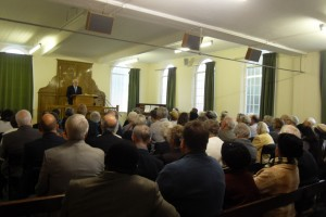 Dr Brian Green lecturing on 'Susannah Spugeon'